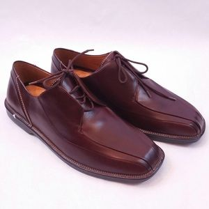 Strol Brees brown German leather dress shoes 10.5